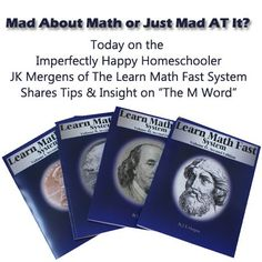 Interview with JK Mergens - the author of The Learn Math Fast System.   #math #curriculum #homeschool #homeschooling #afterschool