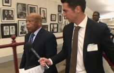 "EPIC: Jesse Watters Confronts John Lewis Over His Comments That Trump Is An ""Illegitimate President"" (Video)"