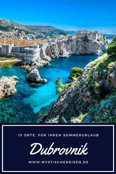 Kroatiens Juwel, Dubrovnik, ist absolut magisch! Die Altstadt ist wirklich atemberaubend und ein absolutes Muss auf jeder Reise nach Kroatien. Es ist einfach, ein paar Tage damit zu verbringen, die Stadtmauern zu erkunden und alle Sehenswürdigkeiten in und um sie herum zu besuchen. #mystischereisen #dubrovnik #Sommerurlaub Guide Amsterdam, Croatia, Travel Destinations, Abs, Vacation, Saitama, Roadtrip, Summer, Projects