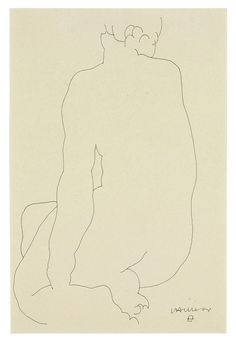 Eduardo Chillida (1924-2002)   | Back of Woman   | 1940s, Drawings & Watercolors | Christie's