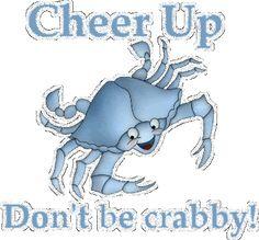Cheer up glitter gifs