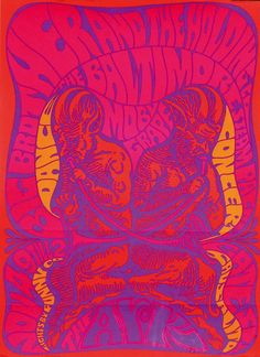 Big Brother and the Holding Company, Moby Grape 1967, printed in USA