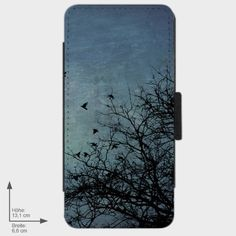 iPhone 5 Flip-Case Birds in the Sky  von Zierrat auf DaWanda.com