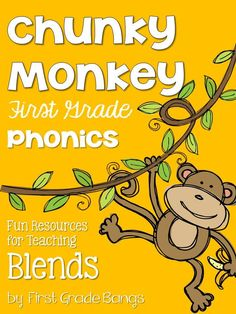 More essential phonics skills from my Chunky Monkey Phonics unit!