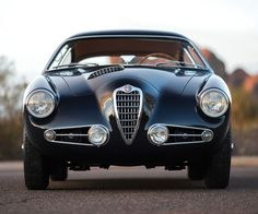 Classic Car Porn: 1955 Alfa Romeo SS Berlinetta By Zagato - Airows Maserati, Ferrari, Sports Car Racing, Race Cars, Automobile, Alfa Alfa, Alfa Romeo Cars, Alfa Cars, Classy Cars