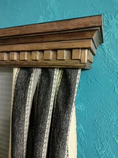 Window cornice/Cornice Window Treatments/Cornice board valance/Cornice board/Wood Cornice Board/Cornice from coniferous wood - Modern Valances & Cornices, Window Cornices, Window Curtains, Wood Cornice, Cornice Boards, Modern Curtains, Wood Windows, Wood Colors, Home Accents