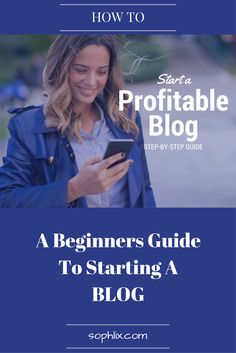 Here's how to start a blog in 20 minutes and start blogging today! This is a perfect guide for beginners who want to learn how to start blogging.