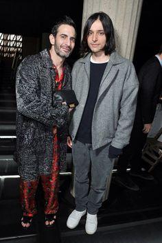 Miu Miu Fall 2013 Marc Jacobs, Olivier Theyskens. #FrontRow #PFW