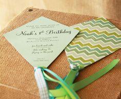 Kite invitations