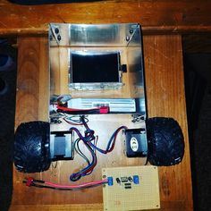 Is there anyone out there with any interesting projects with your Raspberry Pi? This is our little Segway inspired balancing robot. Eventually we aspire for hin to be an exciting helpful companion. #robotics #programming #raspberrypi #pythonprogramming #javascript #computerscience #ai