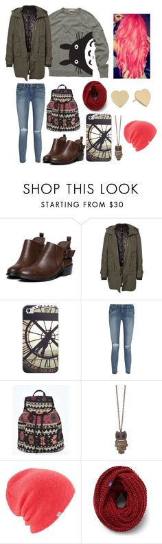 """""""A Day in London"""" by ellie-96 ❤ liked on Polyvore featuring Vero Moda, Casetify, Paige Denim, Boohoo, Coal, Keds and Kate Spade"""