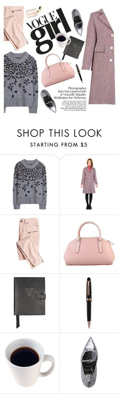 """Vogue girl"" by punnky ❤ liked on Polyvore featuring rag & bone, Victoria's Secret, Smythson and Montblanc"