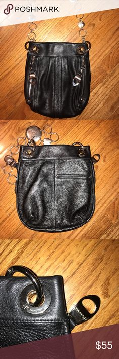 B. Makowsky leather shoulder bag B. Makowsky leather shoulder bag. Very clean inside and out. Minor scratches on metal parts, more noticeable on pictures than in real life. Reasonable offers welcome**** b. makowsky Bags