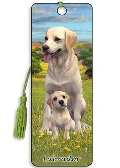 Artgame 3D Labrador Bookmark