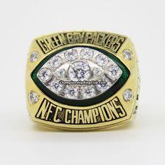 Green Bay Packers 1997 NFC Championship Ring - ChampionshipRingClub.com
