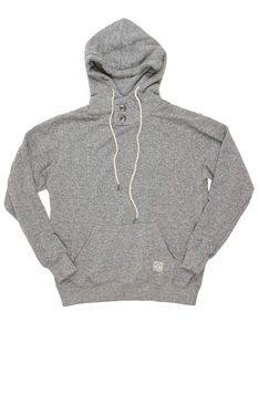 Todos Santos Pullover in Heather Gray by Iron & Resin Hooded Sweatshirts, Hoodies, Kangaroo Pouch, Piece Of Clothing, Hoodie Jacket, Sustainable Fashion, Heather Grey, Iron, Pullover