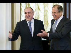 Russian FM Lavrov Welcomes Azerbaijani FM Mamedyarov