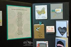 Inking Idaho: Inking Idaho on the Road Displays Part 3 Becky Roberts, Rubber Stamping Techniques, Card Making Inspiration, Idaho, Paper Crafting, Stampin Up, Scrapbooking, Ink, Display