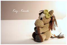 #Amigurumi #horse / #Szydełkowy #Koń #amigurumis #crochet