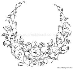 Embroidery Designs Tree T Shirt Embroidery Template Pattern Coloring Pages, Flower Coloring Pages, Free Printable Coloring Pages, Free Coloring Pages, Coloring Sheets, Colouring, Coloring Books, Hand Embroidery Tutorial, Embroidery Flowers Pattern
