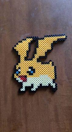 Patamon - Digimon perler beads by wxrchief