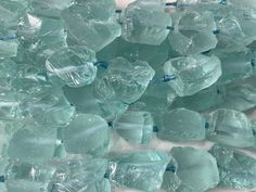Raw Gemstones, Gemstone Beads, Order Up, Aqua Blue, Jewelry Supplies, Crafts To Make, Count, Size 2, Jewelry Making