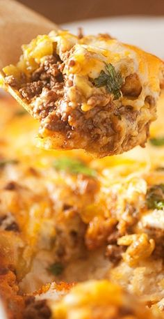 Bubble Up Enchilada Bake