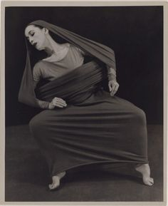 [ Martha Graham in Lamentation, No. 6] | Library of Congress