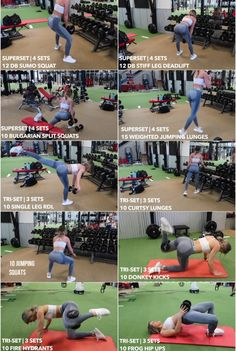 Excersices For Legs At Home and At The Gym - whitney simmons leg booty dumbbell workout - Strengthening our legs is an exercise that we are going to make profitable from the beginning and, therefore, we must include it in our weekly training routine Leg Workout At Home, Leg Day Workouts, At Home Workouts, Back And Bicep Workout, 10 Week Workout, Leg Workout Women, Toned Legs Workout, Gym Workouts Women, Kettlebell Training