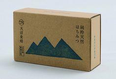 Japanese food packaging / Onuma Honey / Akaoni / 7