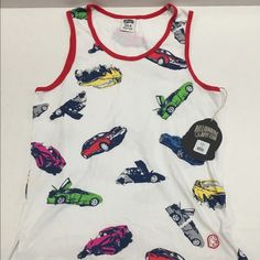 """New Billionaire Boys Club Car Clash Tank Top New with tags Billionaire Boys Club """"Car Clash"""" Tank top in a size medium. Retails $70.00 Tag also features a removable sticker. Men's Billionaire Boys Club Shirts Tank Tops"""