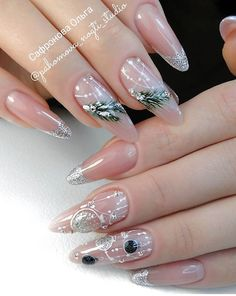 Winter Nails, Nail Designs, Beauty, Nail Desings, Beauty Illustration, Nail Design, Nail Organization, Nail Art Ideas
