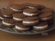 Sušenky Oreo Czech Recipes, Christmas Cookies, Sweet Recipes, Biscuits, Food And Drink, Cupcakes, Sweets, Cooking, Desserts
