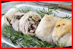 This beautiful turkey roulade combines the turkey and the stuffing to make an easy Thanksgiving dinner for two.#Holiday #Stuffed #Roulade #Turkey #Breast thanksgiving dinner for two Holiday Stuffed Turkey Breast Roulade Recipe 11+ | thanksgiving dinner for two | 2020 Thanksgiving Dinner For Two, Thanksgiving Recipes, Holiday Recipes, 21 Day Fix, Turkey Roulade, Gourmet Burger, Roulade Recipe, Homemade Stuffing, Thanksgiving