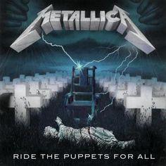 Heavy Metal Rock, Heavy Metal Music, Heavy Metal Bands, Metallica Album Covers, Metallica Albums, Metallica Tattoo, Metallica Art, James Metallica, Metallica Ride The Lightning