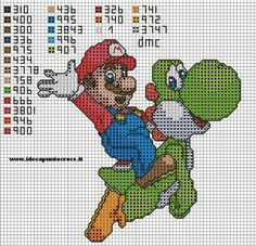 SUPER MARIO PUNTO CROCE by syra1974 on deviantART