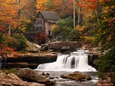 Glade Creek Mill, West Virginia Posters - bij AllPosters.be