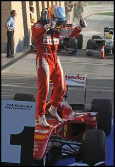 Alonso Ferrari Suit