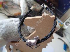 Bracelet en véritables crins de cheval : Bracelet par doudoux-crins
