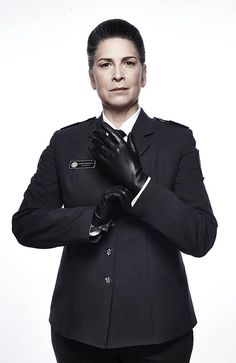 Wentworth star Pamela Rabe who plays Governor Joan Ferguson, aka The Freak. Picture: Foxtel/Ben King