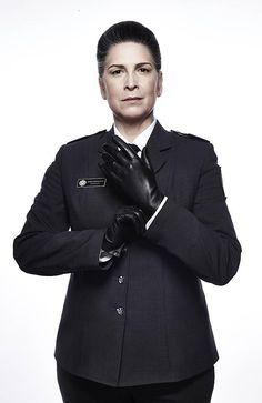 Wentworth star Pamela Rabe who plays Governor Joan Ferguson, aka The Freak. Picture: Foxtel/Ben King
