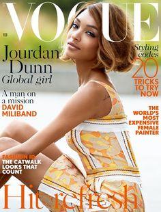 Vogue Jourdan Dunn