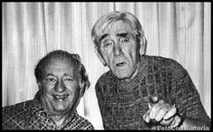 Moe Howard & Larry Fine The Three Stooges Picture taken 1974 Moe Howard, Golden Age Of Hollywood, Classic Hollywood, Old Hollywood, Hollywood Icons, Hollywood Stars, The Stooges, The Three Stooges, Tv Actors