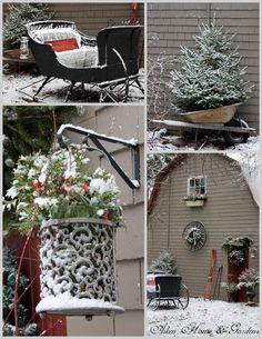 Aiken House & Gardens: Happy December Weekend