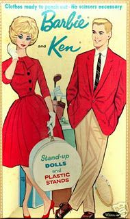 Barbie  and Ken vintage