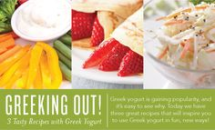 Greeking+Out!+3+Tasty+Recipes+with+Greek+Yogurt