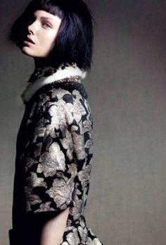 Honer Akrawi Lenses Baroque Punk Fashion for Madame Germany