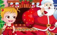 Baby Hazel Christmas Time Christmas Time, Christmas Ornaments, Jouer, Online Games, Matcha, Ronald Mcdonald, Santa, Holiday Decor