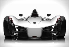 The BAC Mono is a Formula 1 car allowed to travel on the road. It weighs 540kg, has a 2.3 liter Cosworth engine to charge 280hp, six-speed sequential box and offers a central driving position as a formula car. The beast can do the 0 to 60 mph in 2.8 seconds and 0 to 100 mph in 6.7 seconds, it reaches 170 mph.
