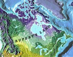 Map of Rupert's Land